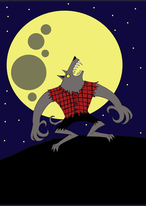 Loup Garou Werewolf