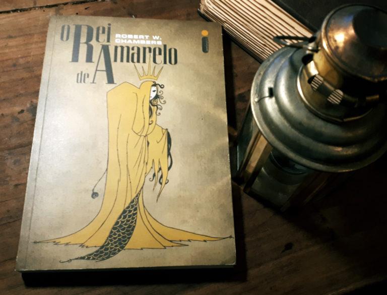 Couverture O Rei de Amarillo Intrinseca