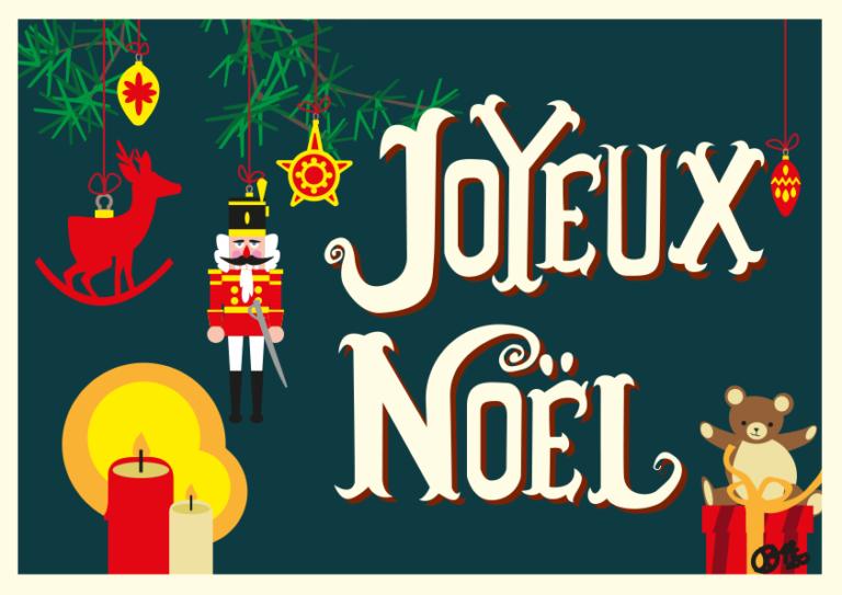 Noël 2020 carte postale