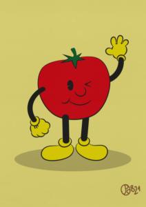Tomate Cartoon